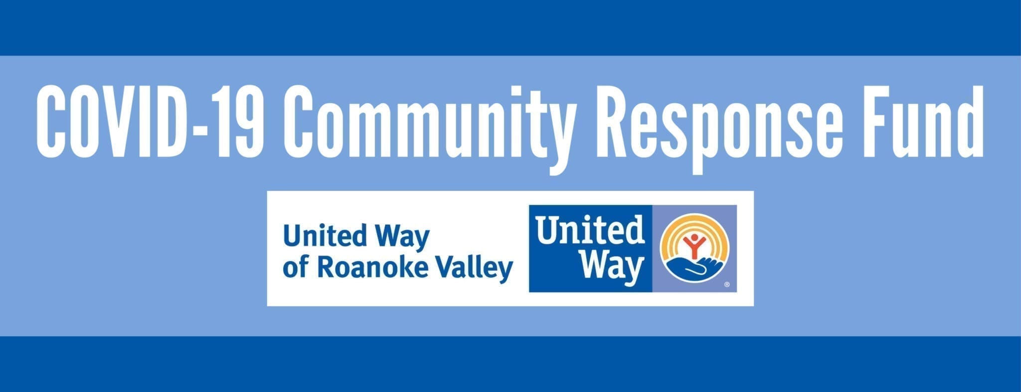 COVID response banner